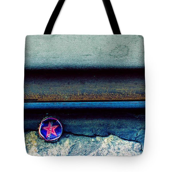 Tales Along The Tracks Tote Bag