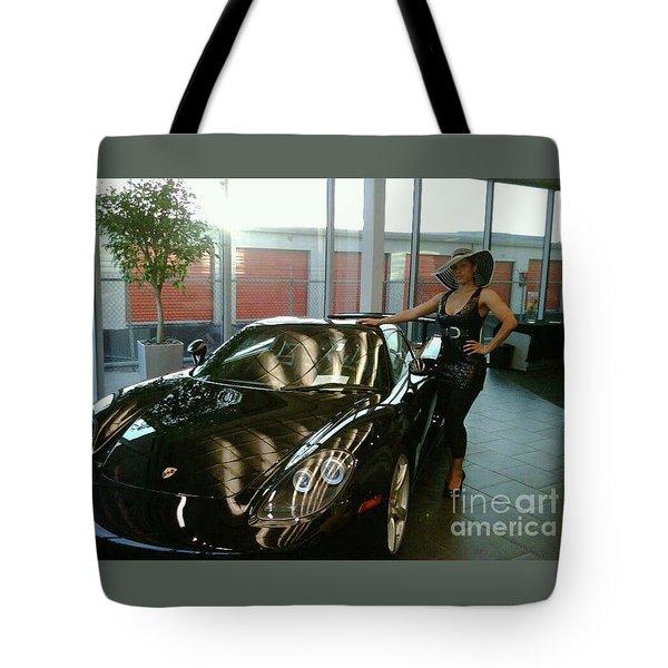 Talisa Hartleys Sports Cars And Big Muscles Tote Bag