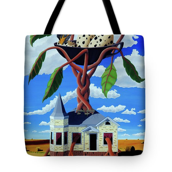 Talk Of The Town Tote Bag