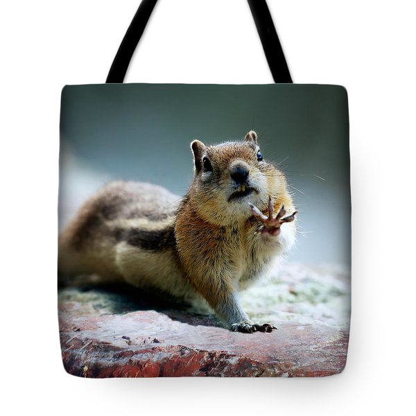 Talk To The Hand Tote Bag