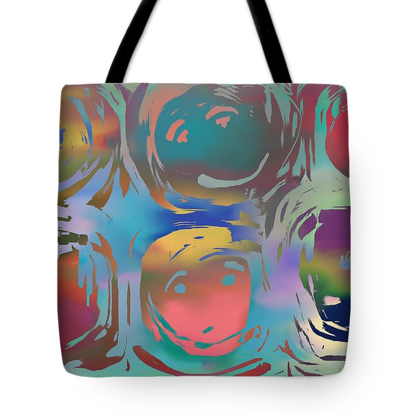 Talking Heads  Tote Bag by Danica Radman