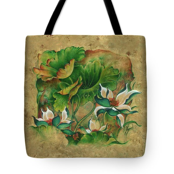 Talks About The Essence Of Life Tote Bag by Anna Ewa Miarczynska