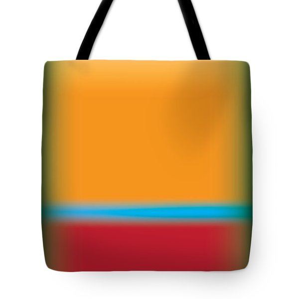 Tall Abstract Color Tote Bag