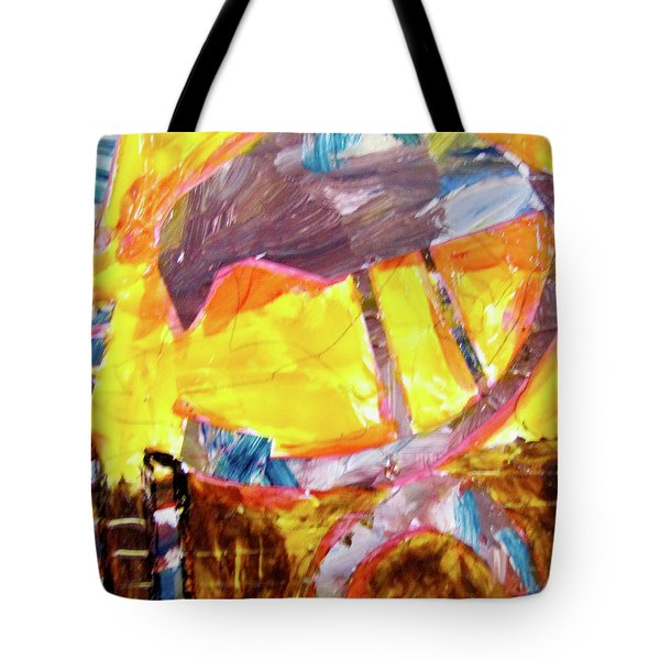 Tall Bird  Tote Bag