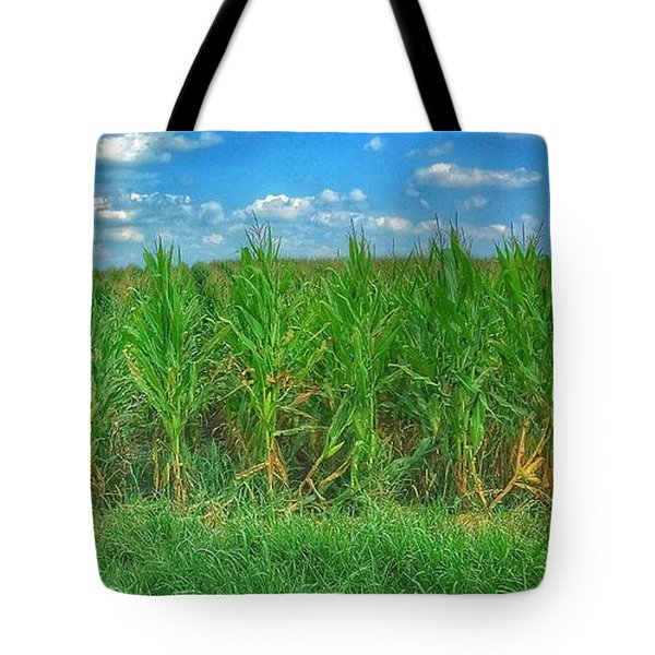 Tall Corn Tote Bag by Jame Hayes