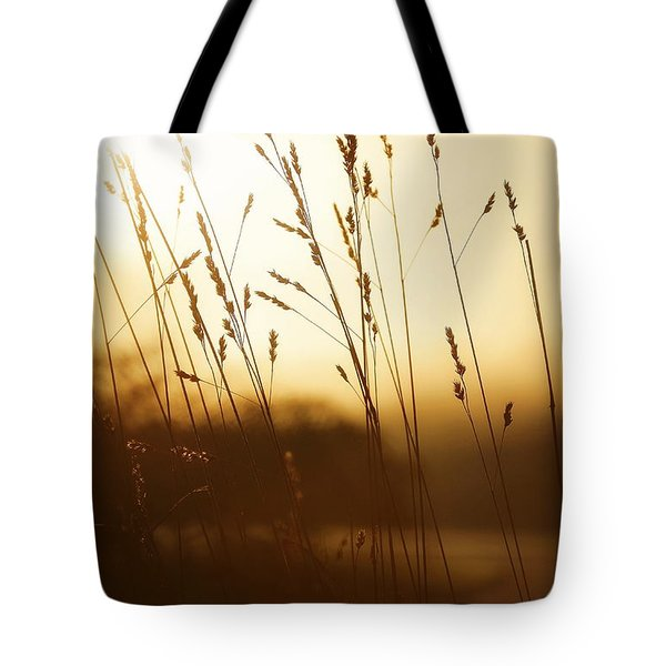 Tall Grass In The Morning Tote Bag