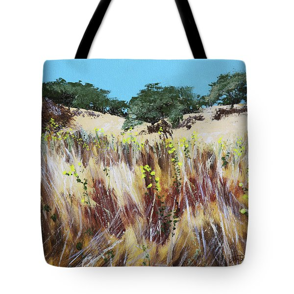 Tall Grass. Late Summer Tote Bag