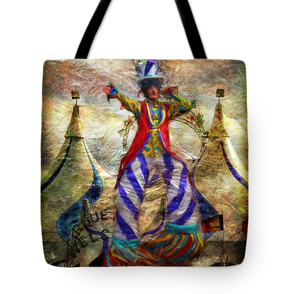 Tall Performer Tote Bag