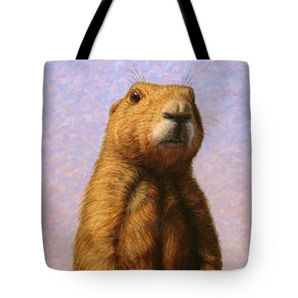 Tall Prairie Dog Tote Bag