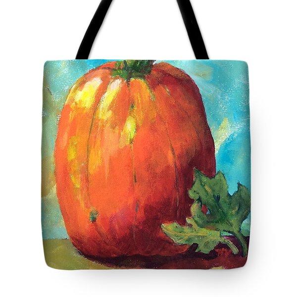 Tall Pumpkin Tote Bag