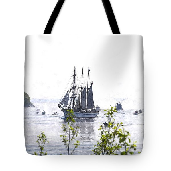 Tall Ship Tswc Tote Bag