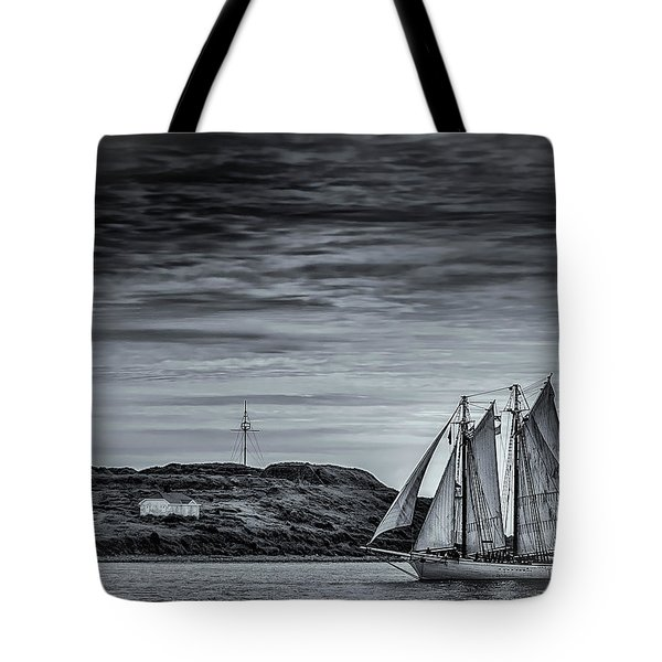 Tall Ships 2009 Tote Bag by Ken Morris