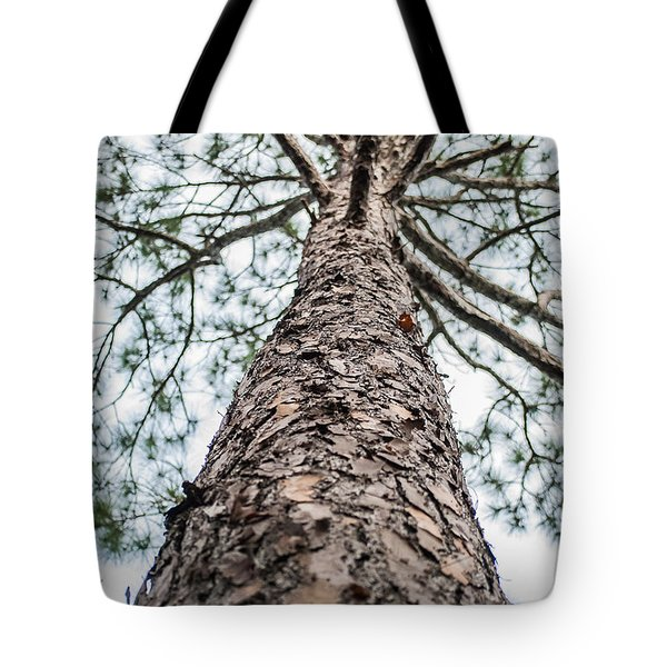 Tote Bag featuring the photograph Tall Tree 4007 by G L Sarti
