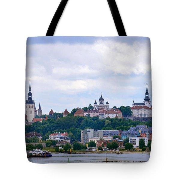 Tallinn Estonia. Tote Bag by Terence Davis