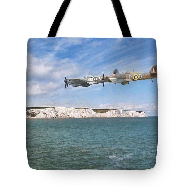 Tote Bag featuring the photograph Tally Bally Ho by Roy McPeak