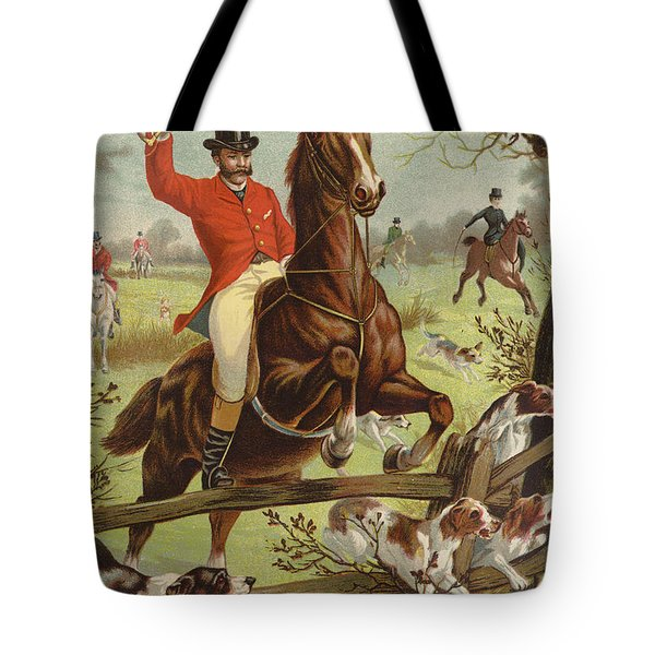 Tally Ho Tote Bag