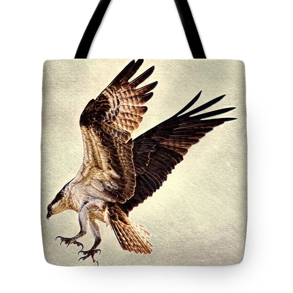 Tote Bag featuring the photograph Talons First  by Ola Allen