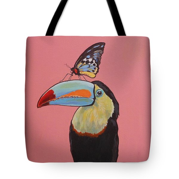 Talula The Toucan Tote Bag