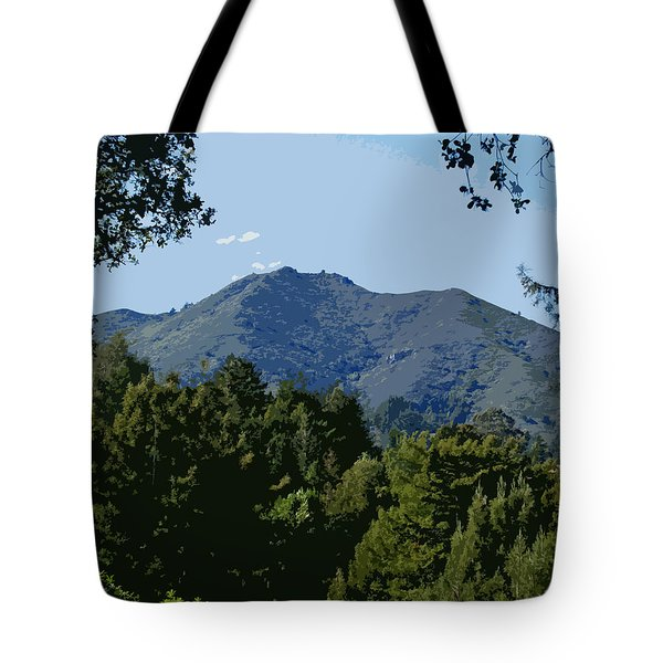 Tamalpais...the Sleeping Princess Tote Bag