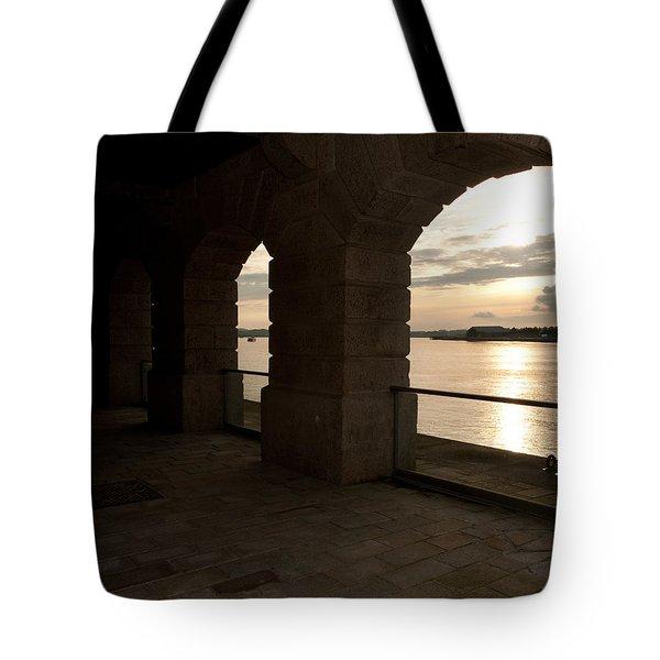Tamar Estuary Sunset Tote Bag