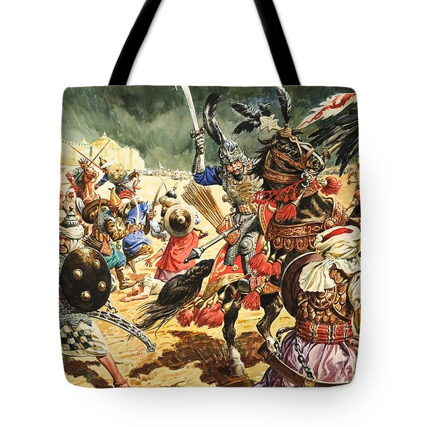 Tamerlane The Terrible Tote Bag by CL Doughty