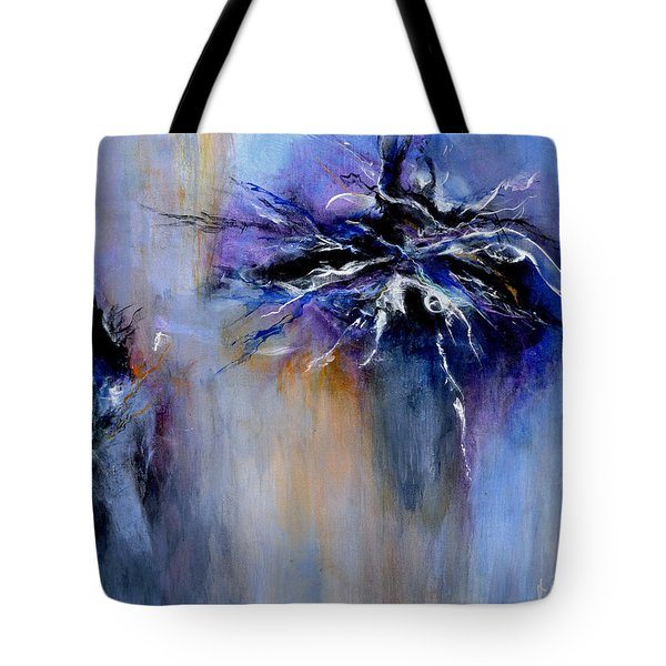 Taming The Blues Tote Bag