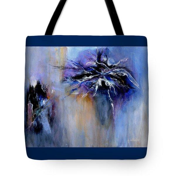 Taming The Blues Tote Bag