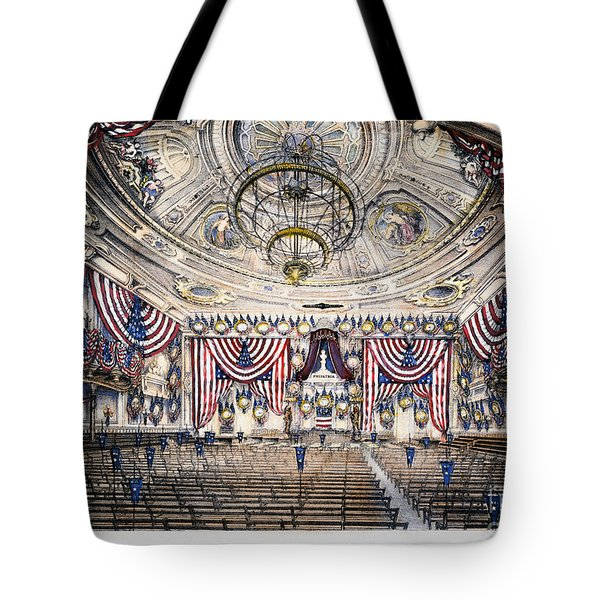 Tammany Hall, Nyc Tote Bag by Granger