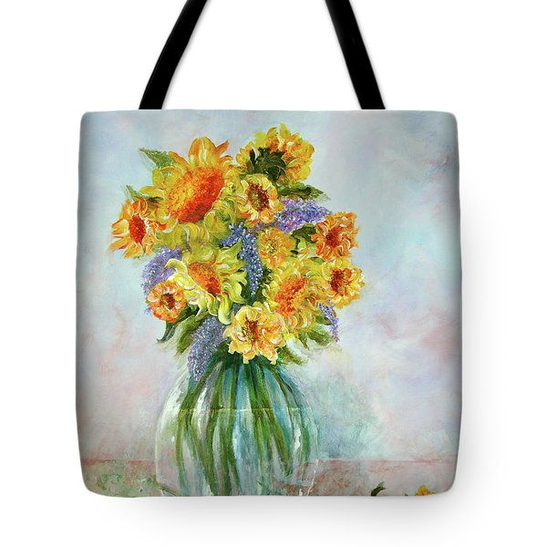 Tammy's Bouquet Tote Bag
