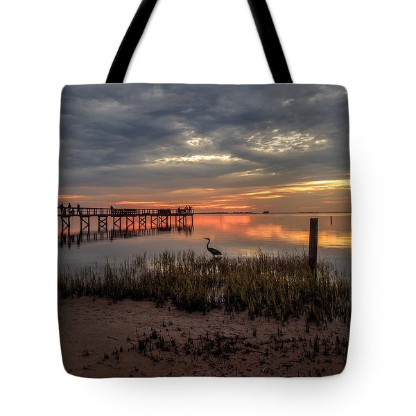 Tote Bag featuring the photograph Tampa  by Anthony Fields