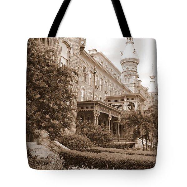 Tampa Gem In Sepia Tote Bag by Carol Groenen