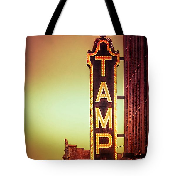 Tampa Theatre Tote Bag