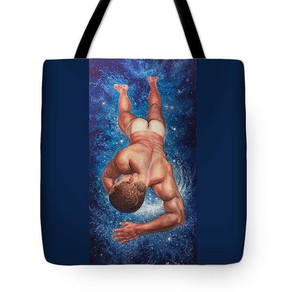 Tan Lines In Space Tote Bag