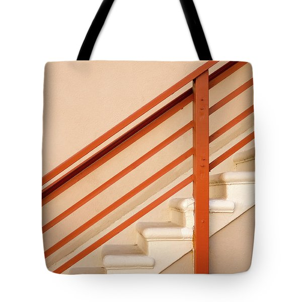 Tan Stairs Venice Beach California Tote Bag