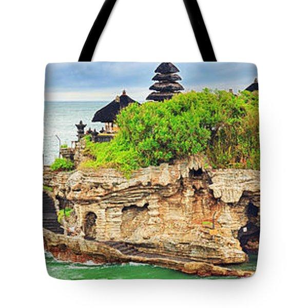 Tanah Lot Tote Bag by MotHaiBaPhoto Prints