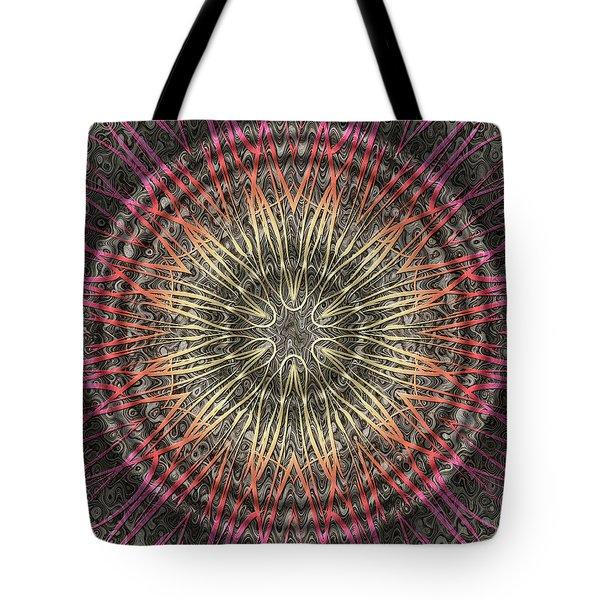 Tangendental Meditation Tote Bag