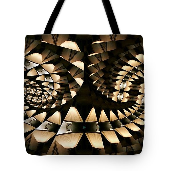 Tangential Spiral Tote Bag