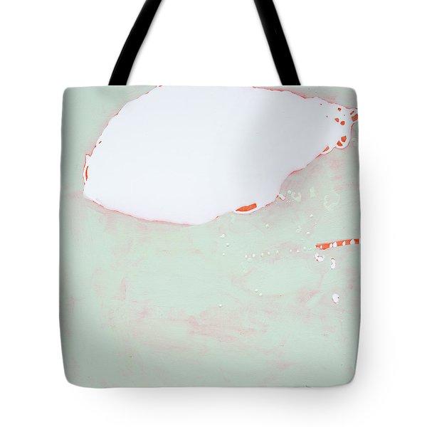 Tangerine Creamsicle Cloud 1 Tote Bag