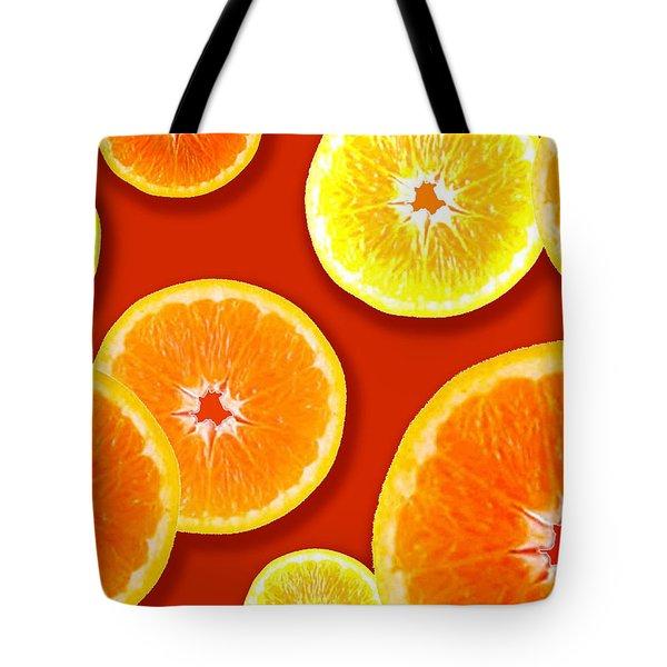 Tangerine Tango Tote Bag