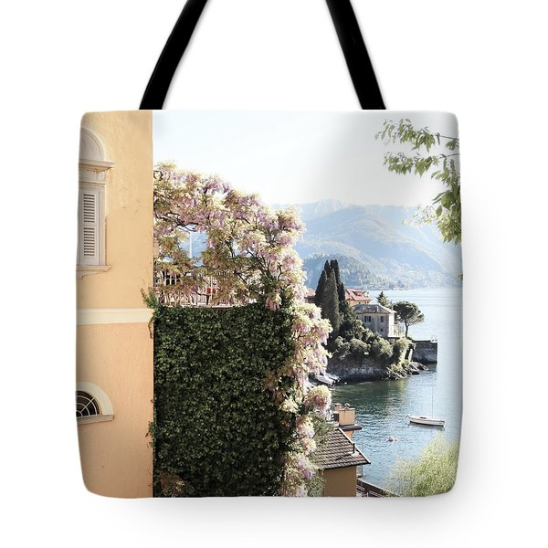 Tote Bag featuring the photograph Yellow And Lavender Vista by Brooke T Ryan
