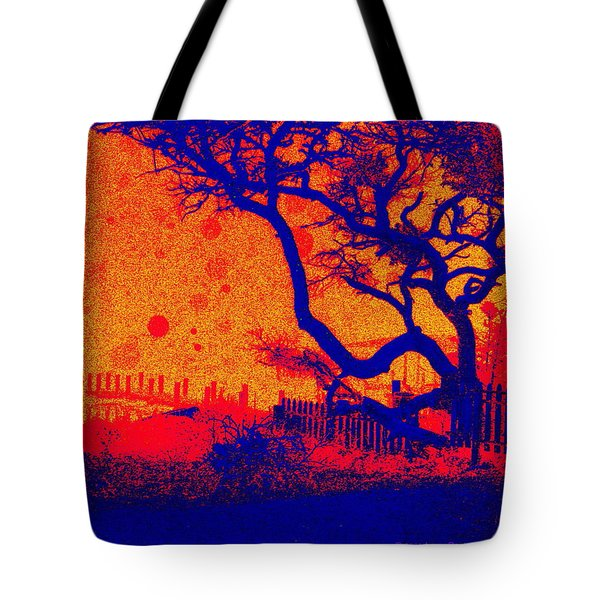 Tangerine Twilight Tote Bag
