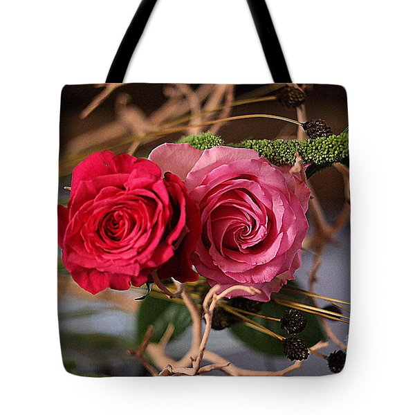 Tote Bag featuring the photograph Tangled On Driftwood by Diana Mary Sharpton