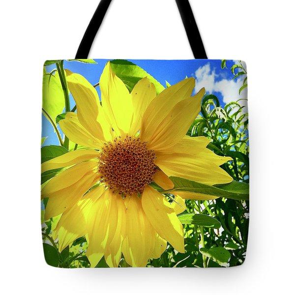 Tangled Sunflower Tote Bag