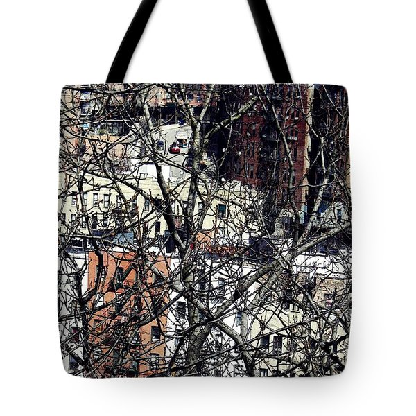 Tangled Town Tote Bag by Sarah Loft