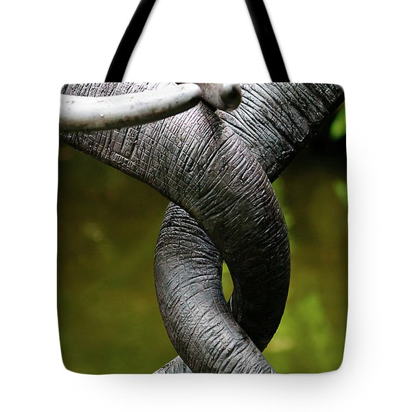Tangled Trunks Tote Bag