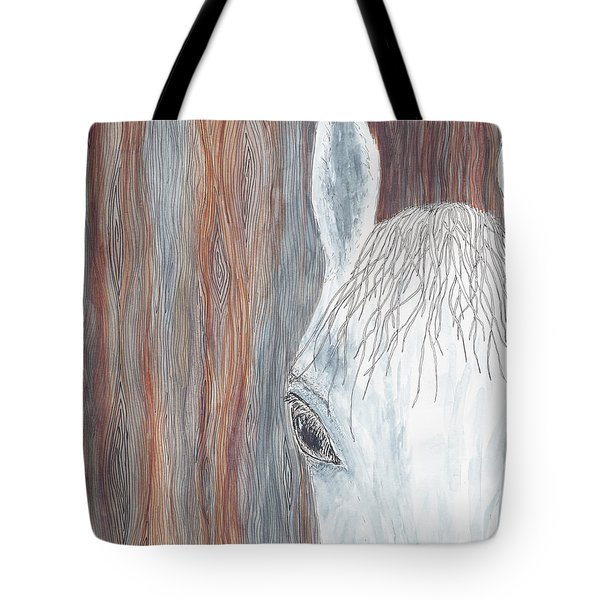 Tote Bag featuring the painting Tanglewood by Kathryn Riley Parker