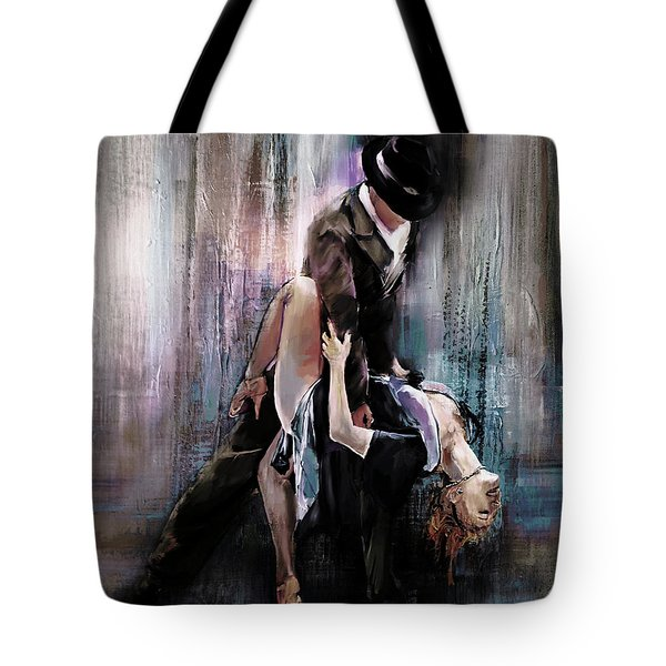 Tango Couple 05 Tote Bag