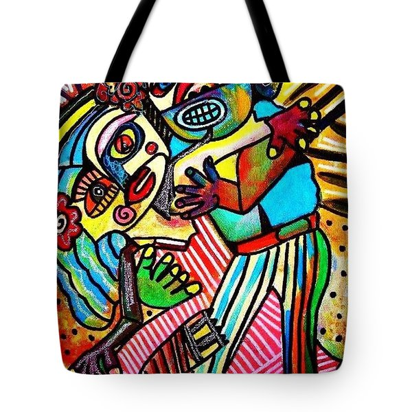 Tango Dance Of Love Tote Bag