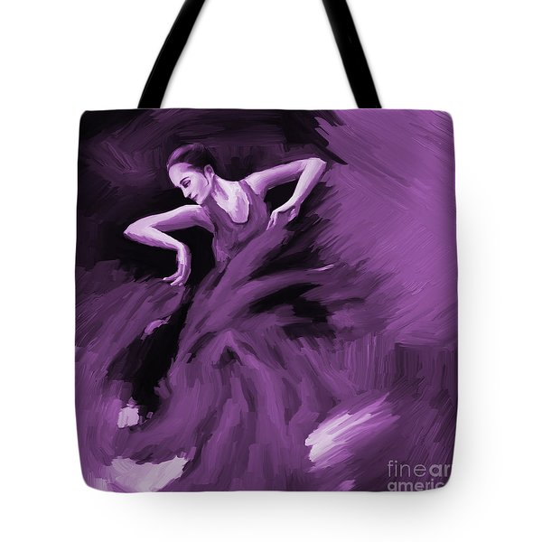 Tango Dancer 01 Tote Bag by Gull G