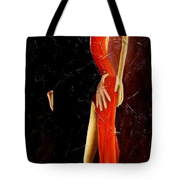 Tango Dancers #3 Tote Bag